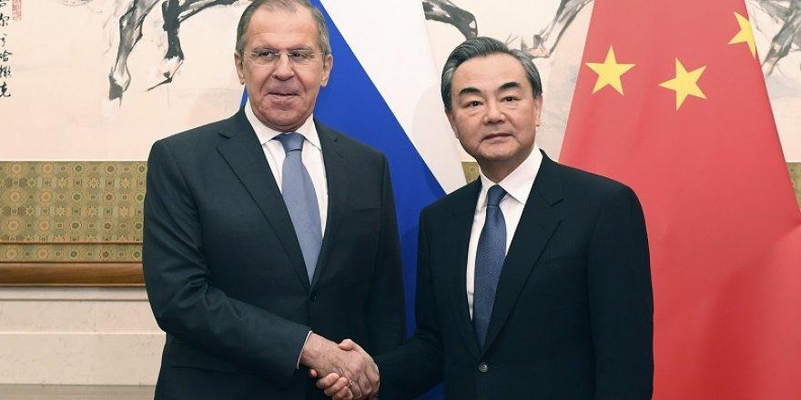 Lavrov'dan Rusya - Çin işbirliğine övgü