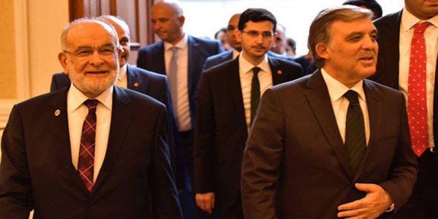 Karamollaoğlu önce Akşener'le sonra Gül ile görüşecek