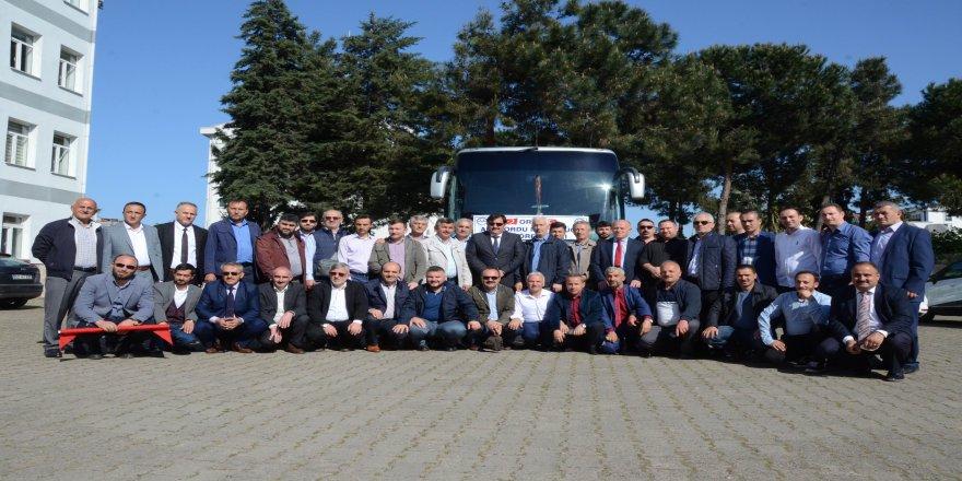 Diyanet çalışanları Afrin yolcusu