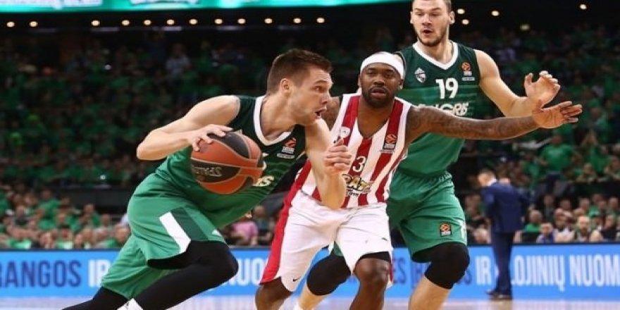 Zalgiris, Olympiakos'u yıktı 2-1 öne geçti