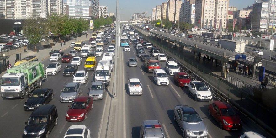 İşte trafikte geçen zaman!