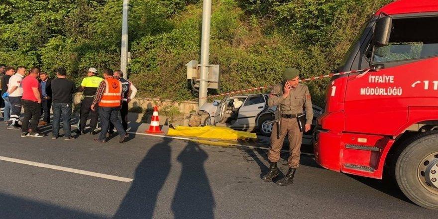 Kazada aynı aileden 3 kişi öldü