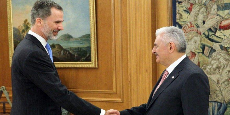 Başbakan, İspanya Kralı tarafından kabul edildi