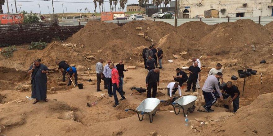 Eski Müslüman mezarlığı bulundu