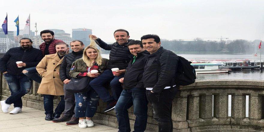 Türk kuaförler en yeni trendler için Avrupa'da