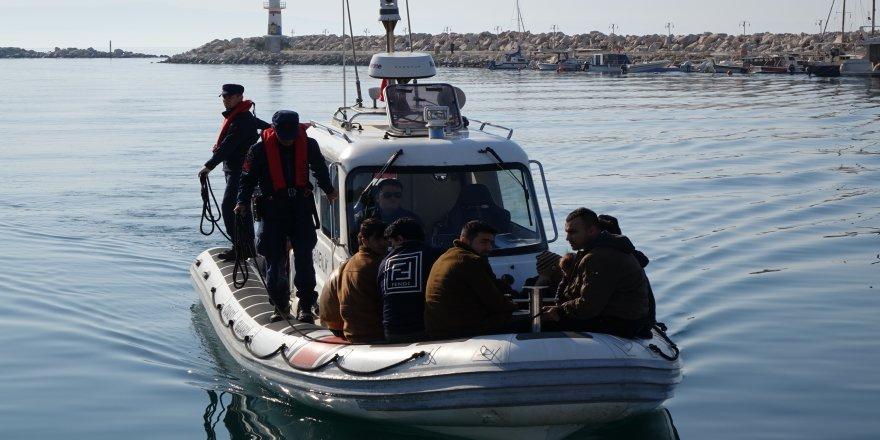 39 kaçak mülteci yakalandı
