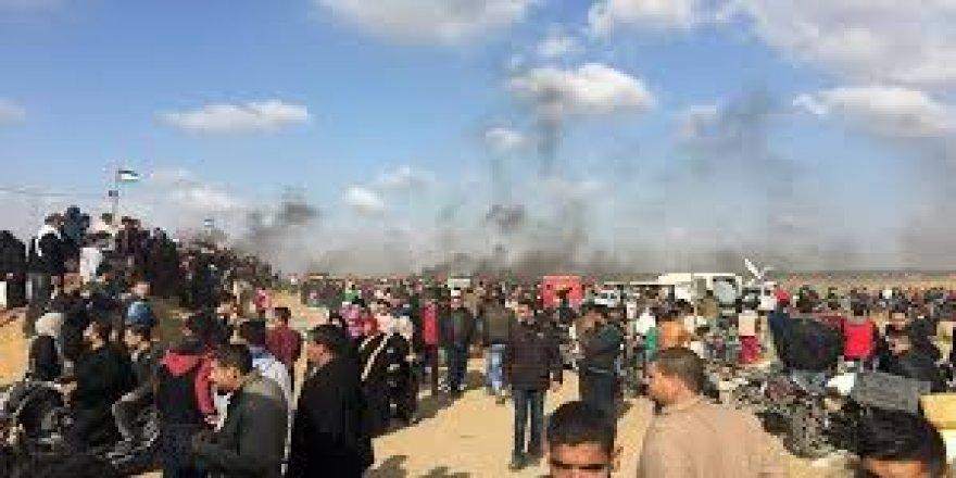 """""""Büyük Dönüş Yürüyüşü'nde 42 Filistinli öldürüldü"""""""