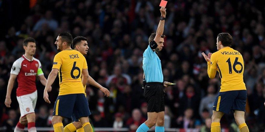 Arsenal, Atletico Madrid'e diş geçiremedi