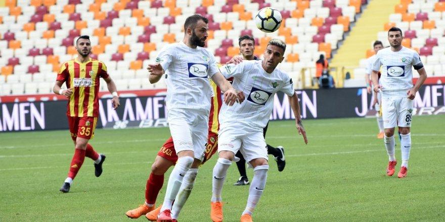 E. Yeni Malatyaspor: 0 -T.M. Akhisarspor: 0