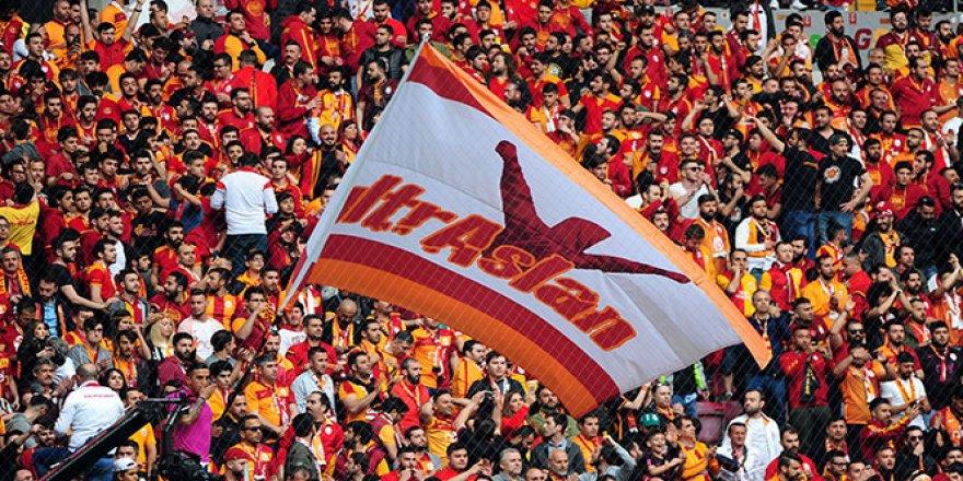 Galatasaray tribünde de şampiyon