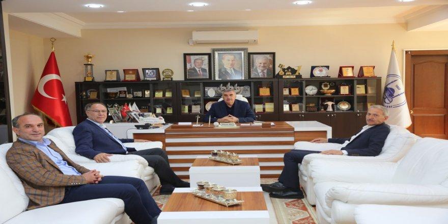 Dişli ve Toçoğlu seçim öncesi istişare yaptı