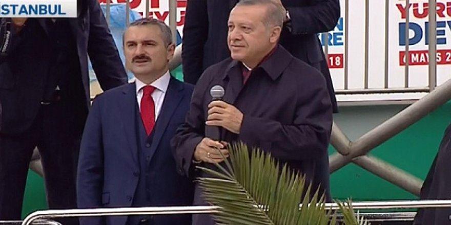 Cumhurbaşkanı Erdoğan'ın yüzünü güldüren tablo