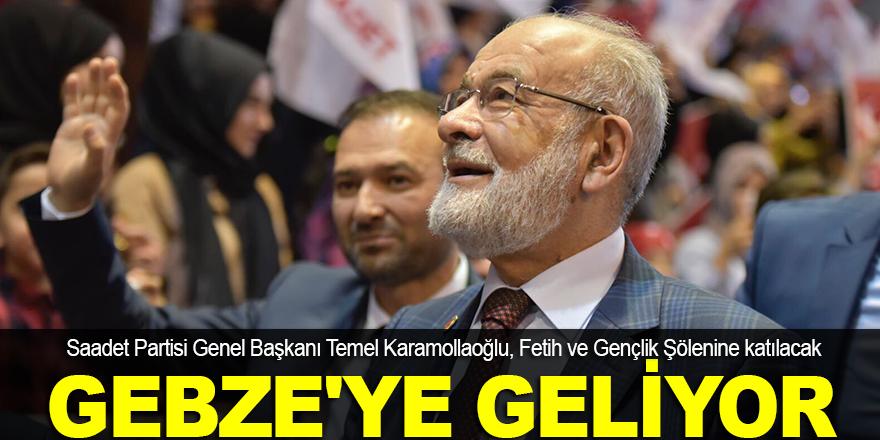 Karamollaoğlu, Gebze'ye geliyor