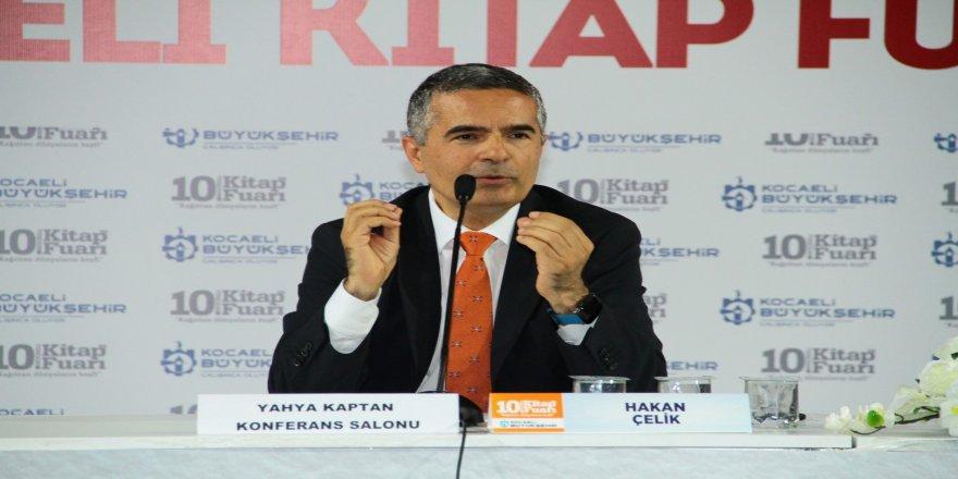 Gazeteci Hakan Çelik, Kocaeli Kitap Fuarı'nda
