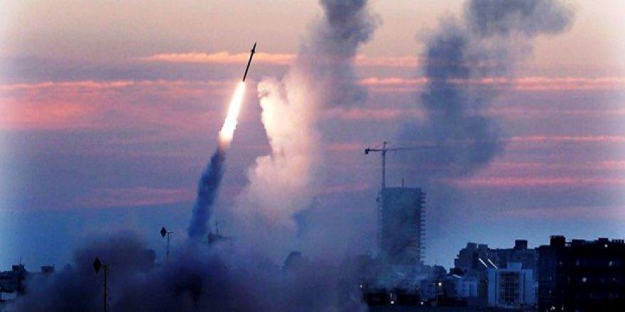 İsrail'den Gazze'ye 5 füze