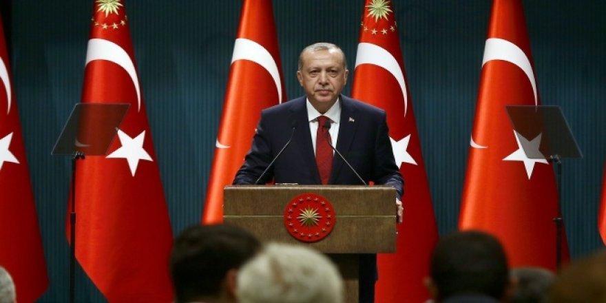 Cumhurbaşkanı Erdoğan'dan 'gençlik' vurgusu