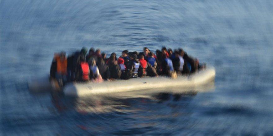 114 göçmen kurtarıldı