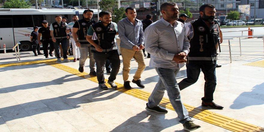 Suç örgütüne 15 tutuklama