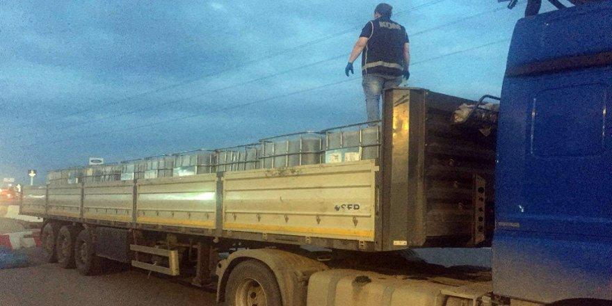 19 bin litre kaçak akaryakıt ele geçirildi