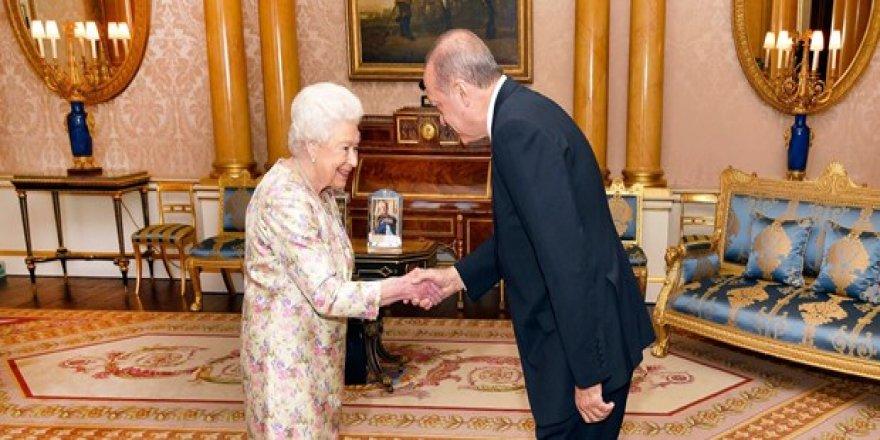 Erdoğan Kraliçe görüştü