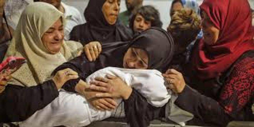 İsrail 8 aylık Leyla bebeği de katletti