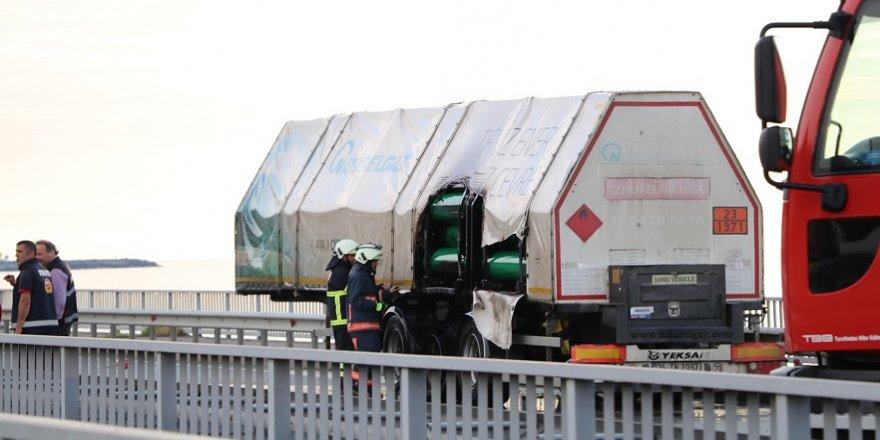 Yanan CNG tankeri korkuttu