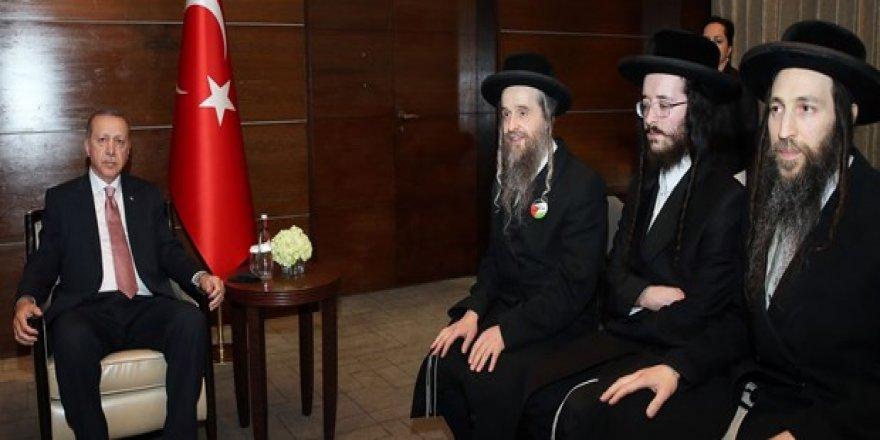 Cumhurbaşkanı Erdoğan, Musevi Cemaatini kabul etti