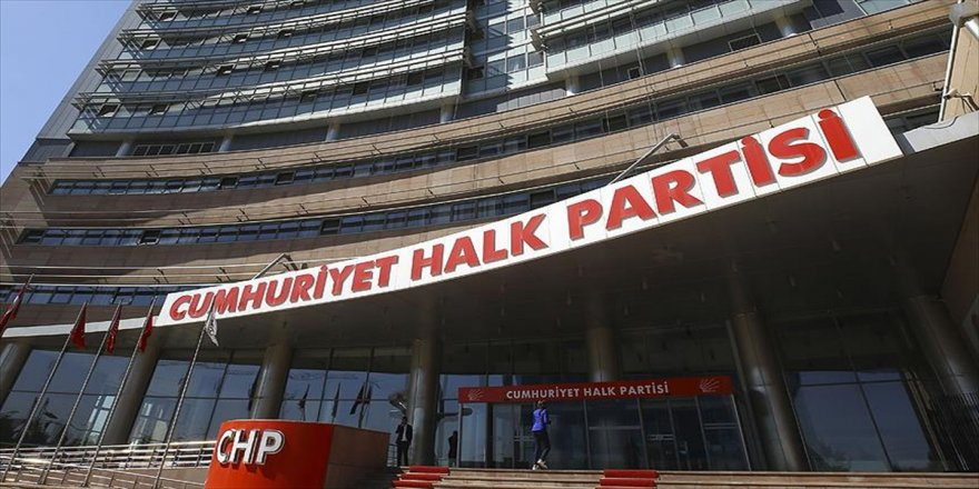 CHP'den 'Filistin' genelgesi