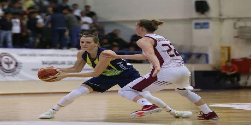 Kadınlar Basketbol Süper Ligi Play off mücadelesinde seri 1-1