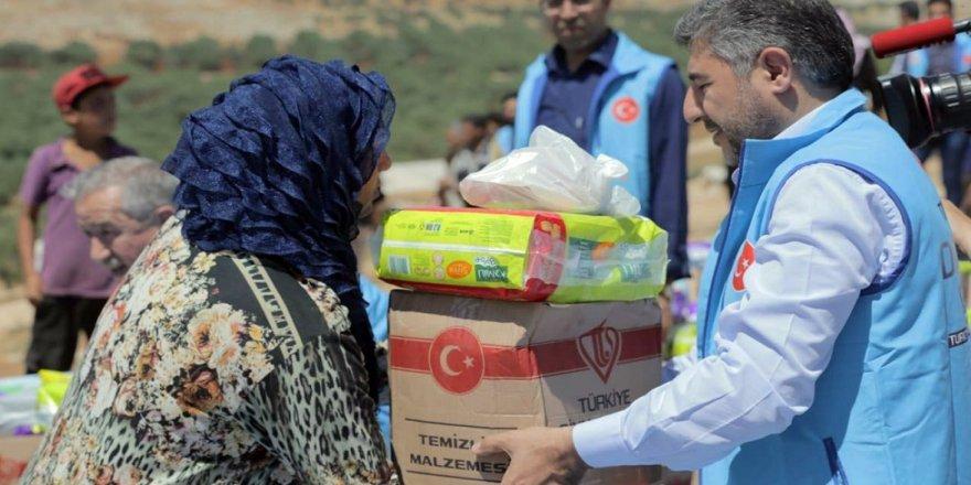 Suriye'ye Ramazan yardımı