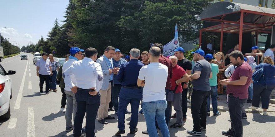 CHP'den işçilere destek