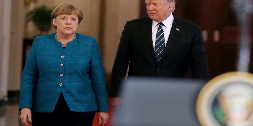 Trump'tan Merkel'e baskı