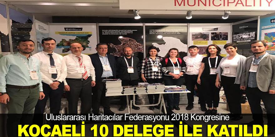 FIG 2018 Kongresi'nde Kocaeli tanıtıldı