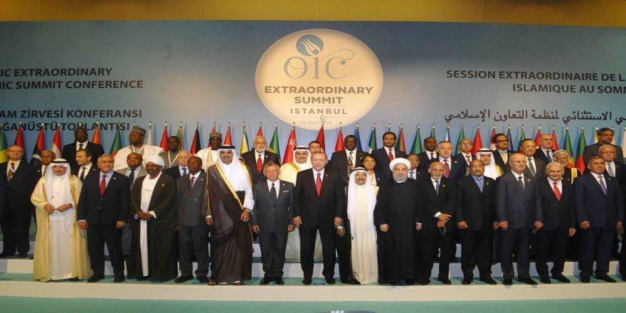 Liderlerden aile fotoğrafı