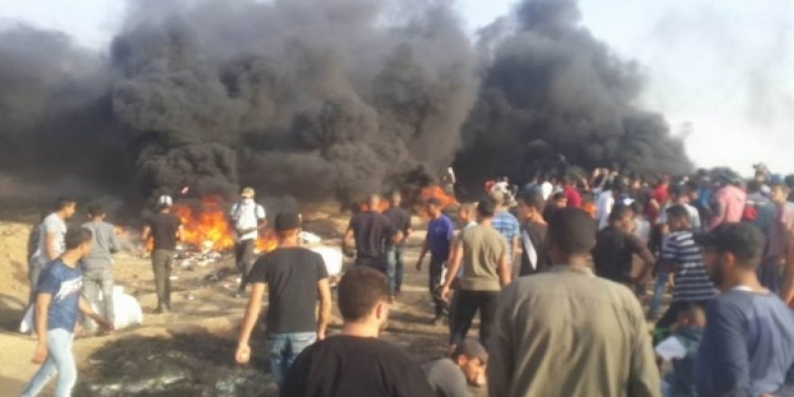 Gazze'de ölü sayısı 66'ya yükseldi