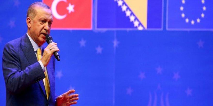 Cumhurbaşkanı Erdoğan, Avrupa'da yaşayan Türklere seslendi