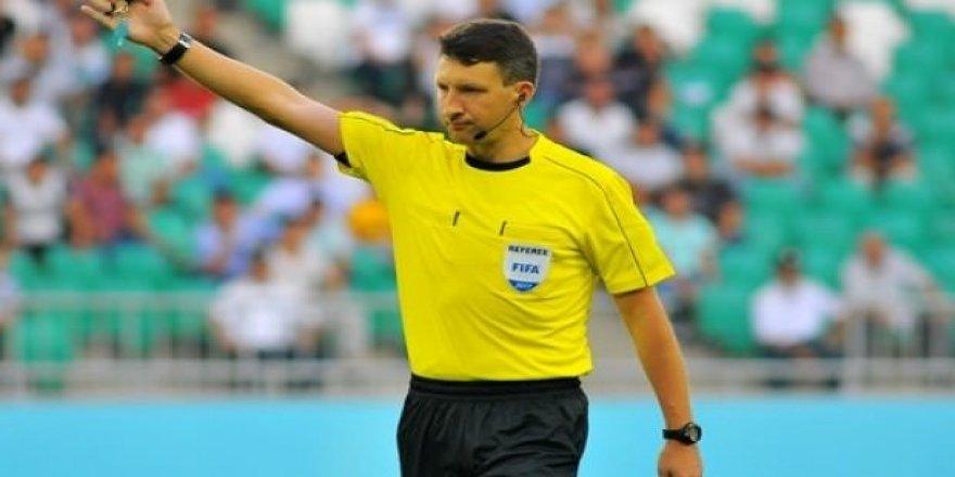 Türkiye - İran maçının hakemi açıklandı