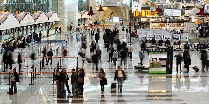 4 ayda 32 milyondan fazla yolcu uçtu