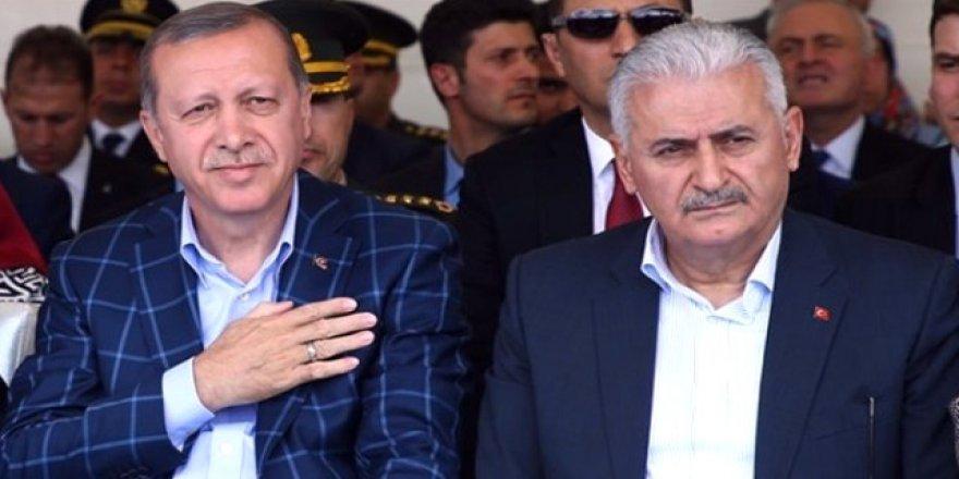 Erdoğan ve Yıldırım Genel Merkez'de