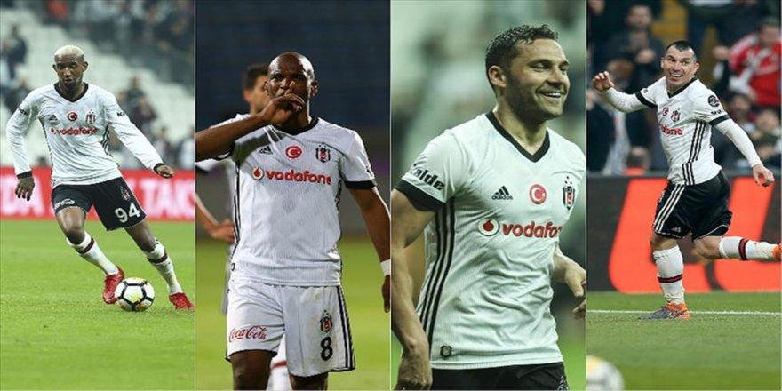 Beşiktaş'ta sezona damga vuran oyuncular