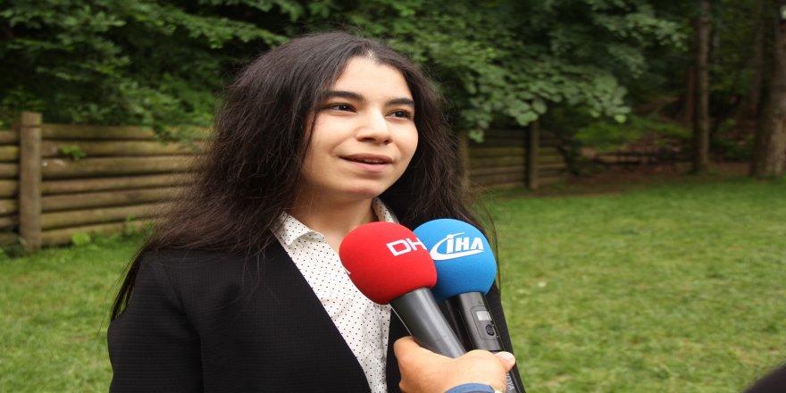 Türkiye'nin en genç milletvekili adayı ilk kez konuştu