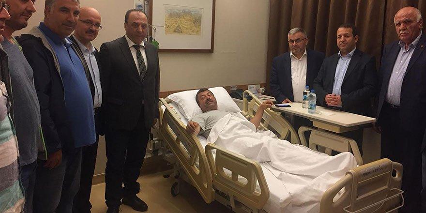 Şükrü Karabacak ameliyat oldu
