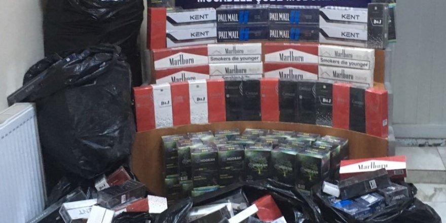 39 bin 67 paket kaçak sigara ele geçirildi