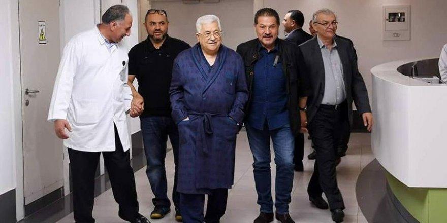 Mahmut Abbas, hastanede görüntülendi