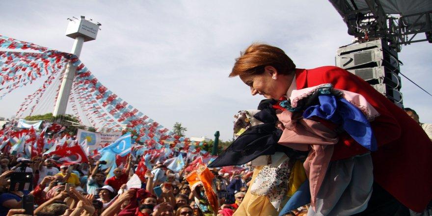 İYİ Parti Genel Başkanı Meral Akşener: