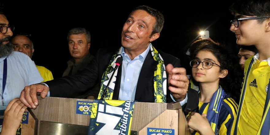 Ali Koç, Fenerbahçeli taraftarlarla buluştu