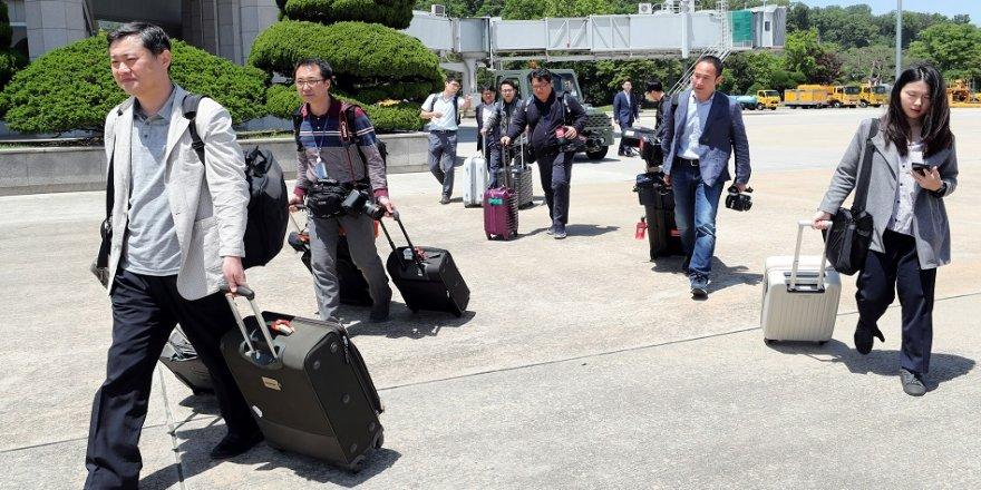 Güney Koreli gazetecilere özel izin