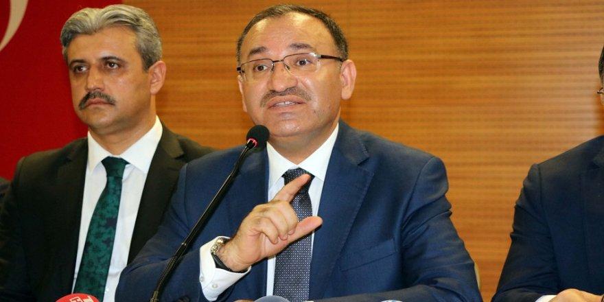 Bozdağ: Dolar üzerinden Türk halkını etkilemek isteyenler var