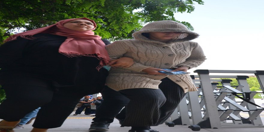 2 çocuğunu öldüren katil anne adliyeye getirildi