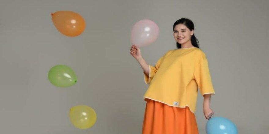 Anne Adayları İçin Özel Tasarım Doğum Elbisesi